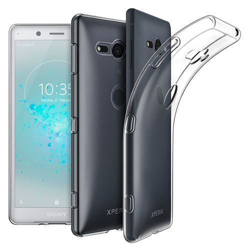Flexi Slim Gel Case for Sony Xperia XZ2 Compact - Clear (Gloss Grip)
